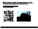 Adkins Cemetery, Bogle Twp., Gentry Co., Missouri