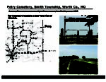 Petry Cemetery, Smith Twp., Worth Col, Missouri