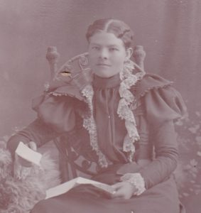 Rescued Photo:  Peterson – Mary Peterson 1890s