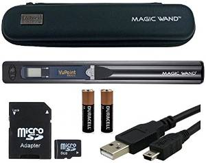 VuPoint Magic Wand Portable Scanner